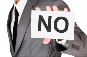 "No Signf99c - Don't Be Afraid to Say ""No"" to Your Boss"